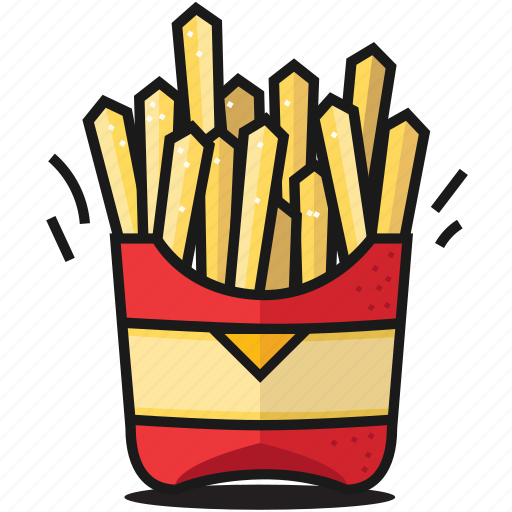 dinner, fastfood, food, fries, healthy, potato, salt icon