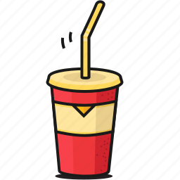 cola, cold, dinner, drink, drinks, fastfood, food icon