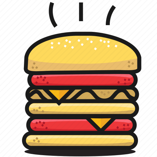 Fast Food Icons Set By Nastia Malyushevska