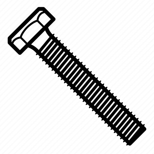 bolt, fastener, fasteners, mount icon