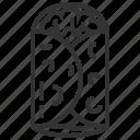 burrito, food, mexican, vegetable icon