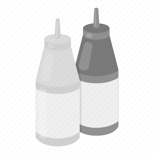 Cooking, fast, food, ketchup, mustard, sauce, seasoning icon - Download on Iconfinder