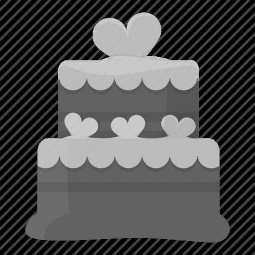 Cake, chocolate, cream, dessert, fast food, sweet icon - Download on Iconfinder