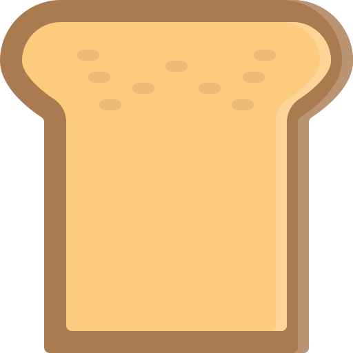 Bread, breakfast, fastfood, food, piece icon - Free download