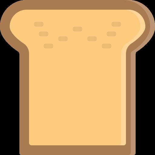 bread, breakfast, fastfood, food, piece icon
