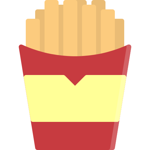 Chip, fast, fastfood, food, french, fries, potato icon - Free download