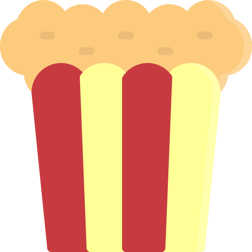 Cinema, dessert, fastfood, film, food, popcorn, sweet icon - Free download