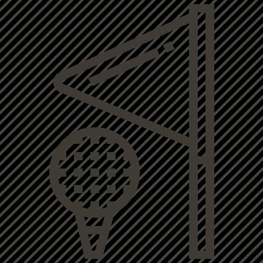 ball, flag, golf, sport icon