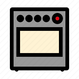 appliance, cooking, equipment, household, kitchen, oven, stove icon