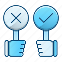 conference, debate, rate, speech icon