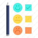 customer, feedback, rate, satisfaction, service, survey icon