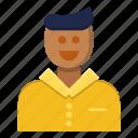 avatar, feedback, man, review, talk
