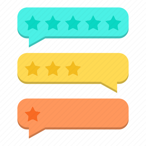 bubbles, comment, conversation, feedback, rate, review icon