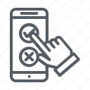 feedback, mobile, phone, smartphone, telephone icon