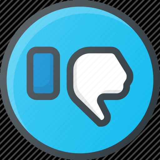 dislike, feedback icon