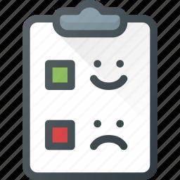 feedback, survey icon