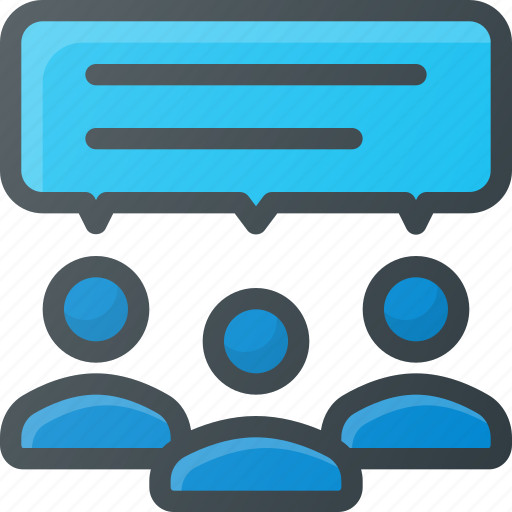 Feedback, group, response icon - Download on Iconfinder