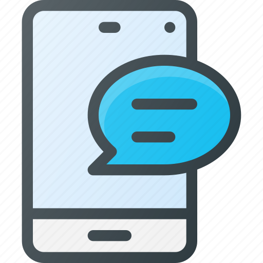 feedback, message, mobile icon