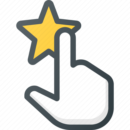 feedback, rating, star, touch icon