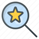 feedback, for, rating, search, star