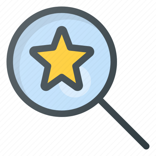 feedback, for, rating, search, star icon