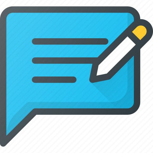 Application, content, feedback, write icon - Download on Iconfinder