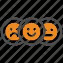 emoji, feedback, review, survey