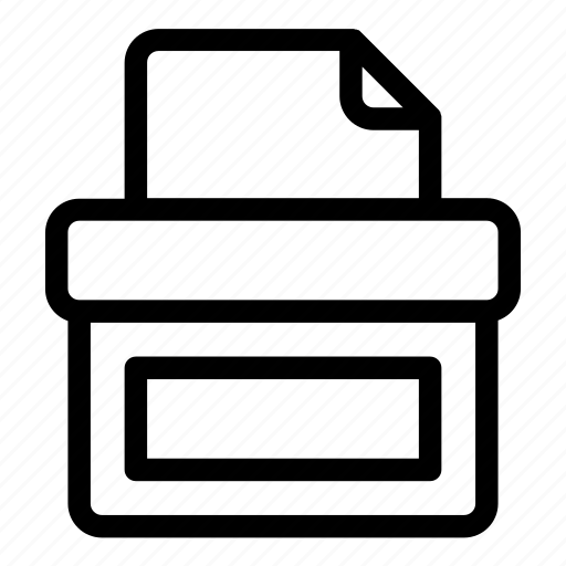 Ballot, ballot box, election, elections, paper, vote, voting icon - Download on Iconfinder