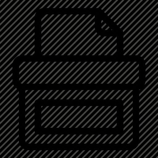 ballot, ballot box, election, elections, paper, vote, voting icon