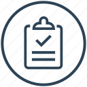 clipboard, feedback, review, success, survey