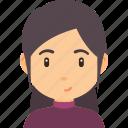 avatar, beautiful, fashion, female, girl, hair, hairstyle