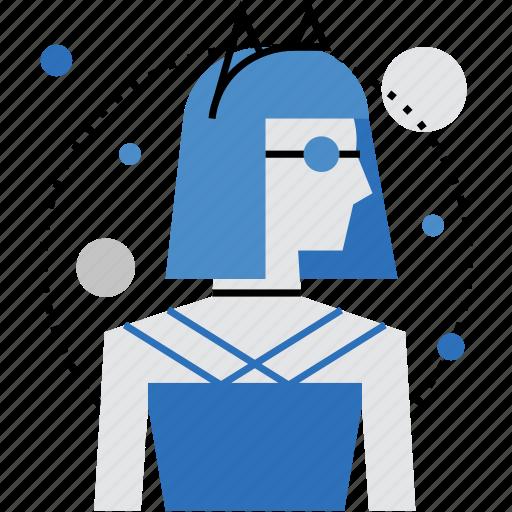 avatar, blogger, cosplay, costume, fashion, female, person icon