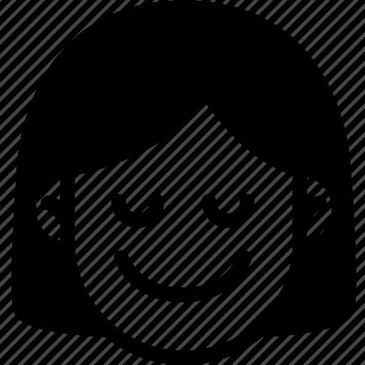emoji, emotion, expression, face, feeling, peace icon