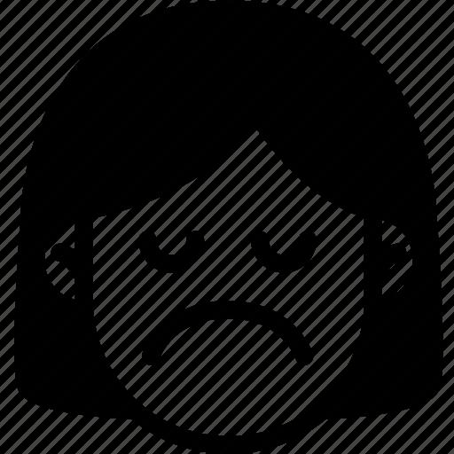 Emoji, emotion, expression, face, feeling, sad icon - Download on Iconfinder