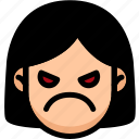 emotion, angry, face, feeling, expression, emoji
