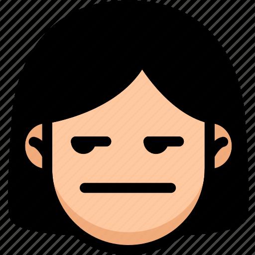 Annoying, emoji, emotion, expression, face, feeling icon - Download on Iconfinder