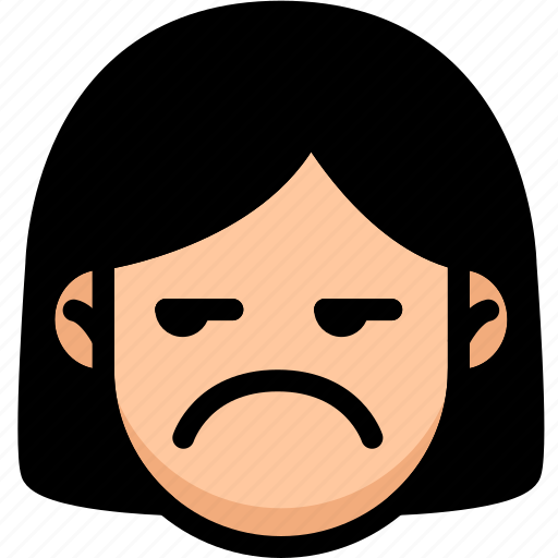 Annoying, emoji, emotion, expression, face, feeling icon - Download on Iconfinder
