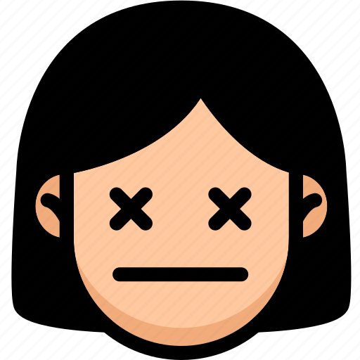 Dead, emoji, emotion, expression, face, feeling icon - Download on Iconfinder