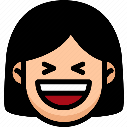 Emoji, emotion, expression, face, feeling, laughing icon - Download on Iconfinder