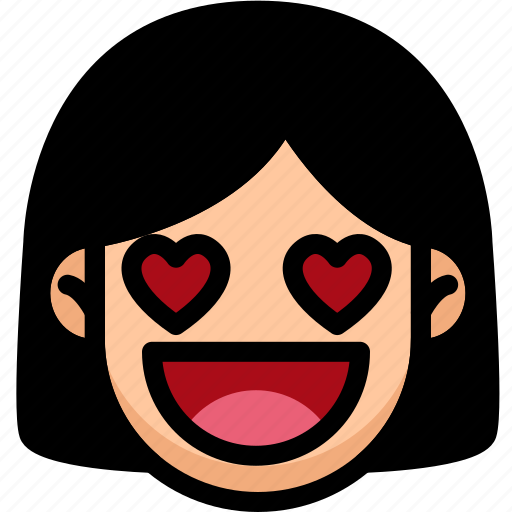 Emoji, emotion, expression, face, feeling, love icon - Download on Iconfinder