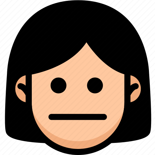 Emoji, emotion, expression, face, feeling, neutral icon - Download on Iconfinder