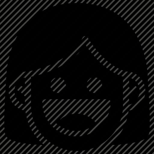 emoji, emotion, expression, face, feeling, laughing icon