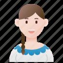 argentina, argentine, costume, folk, taditional icon
