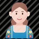 chile, dress, folk, girl, traditional