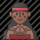aborigine, australia, indigenous, tribal, woman