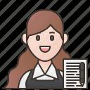 blogger, copywriter, freelance, job, writer icon