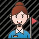 assistant, guide, leader, service, tour