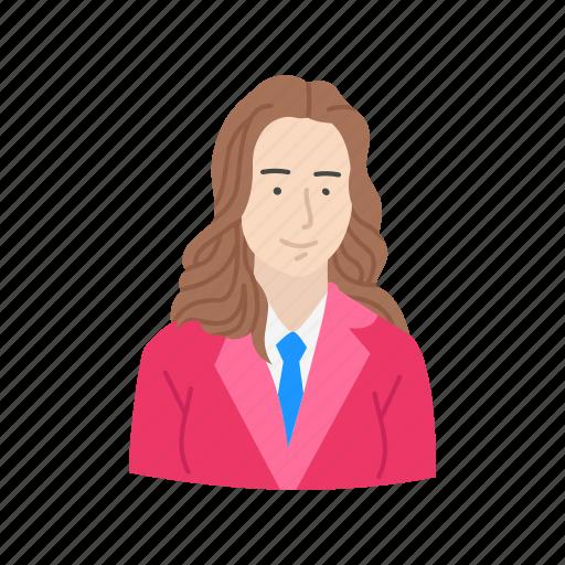business, business woman, entrepreneur, executive icon
