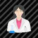chemist, female scientist, lab, laboratory