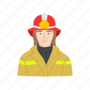 fire, fire woman, firefighter, female firefighter